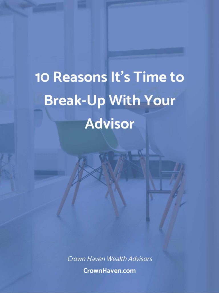 10 Reasons To Break-Up With Your Advisor