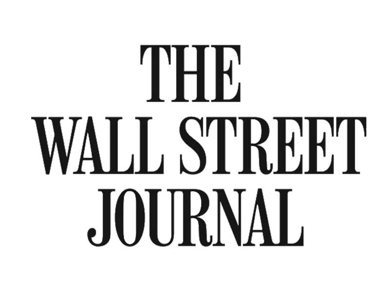 As featured on Wall Street Journal